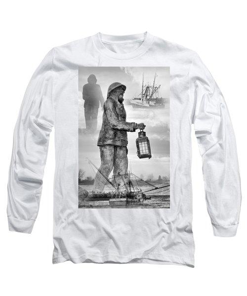 Fishermen - Jersey Shore Long Sleeve T-Shirt