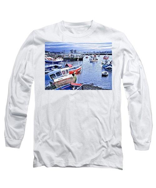 Fishing Boats At 'paddy's Hole' Long Sleeve T-Shirt