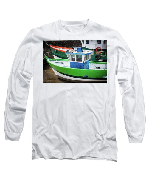 Fishing Boats Long Sleeve T-Shirt