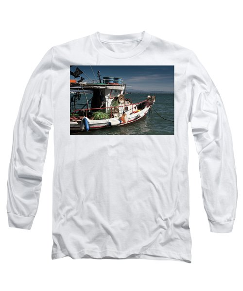 Long Sleeve T-Shirt featuring the photograph Fishing by Bruno Spagnolo