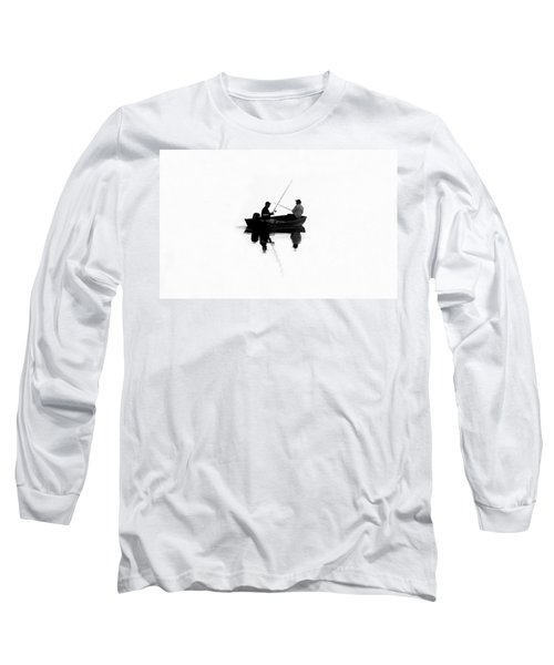 Fishing Buddies Long Sleeve T-Shirt by David Lee Thompson