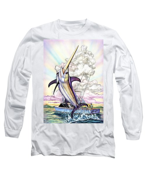 Fishing Swordfish Long Sleeve T-Shirt