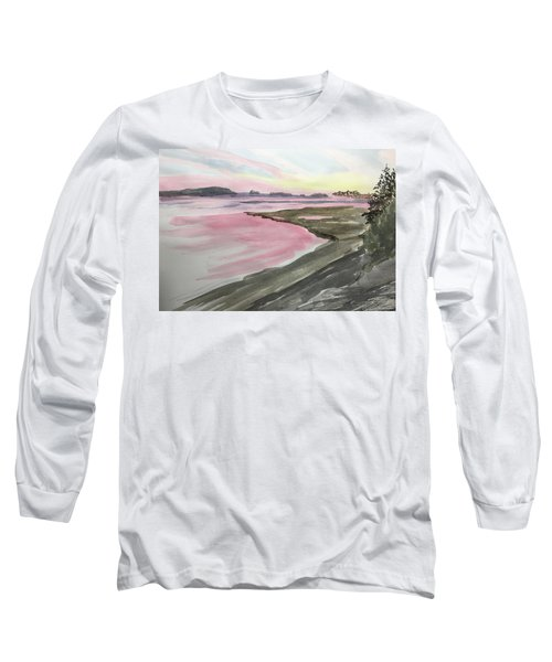 Five Islands - Watercolor Sketch  Long Sleeve T-Shirt