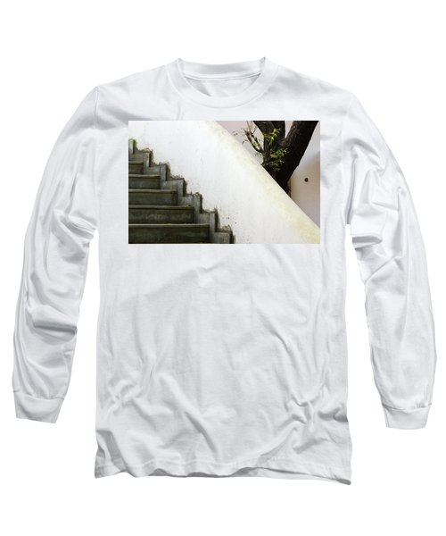 Long Sleeve T-Shirt featuring the photograph Five Steps To Glory by Prakash Ghai