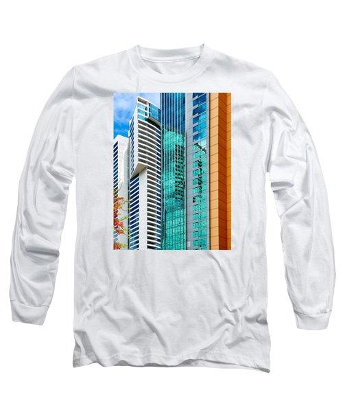 Fla-150531-nd800e-25116-color Long Sleeve T-Shirt by Fernando Lopez Arbarello