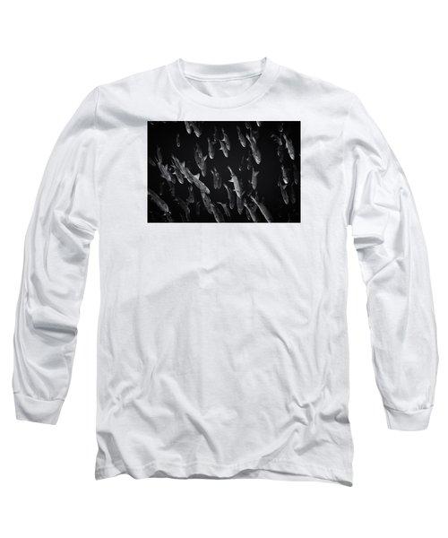 Fla-150811-nd800e-26105-bw-selenium Long Sleeve T-Shirt by Fernando Lopez Arbarello