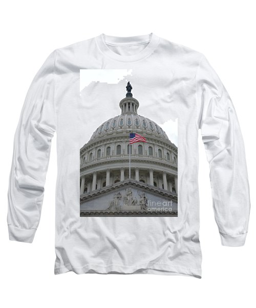 Flag And Dome Long Sleeve T-Shirt