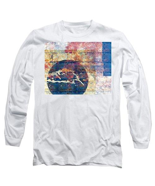 Flag Long Sleeve T-Shirt by Gabrielle Schertz