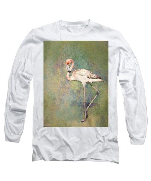 Flamingo Dancing Long Sleeve T-Shirt