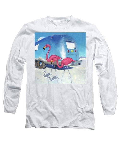 Flamingo Migration Long Sleeve T-Shirt