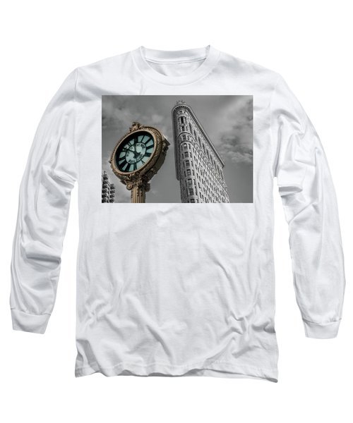 Flatiron Building Long Sleeve T-Shirt