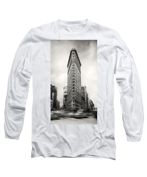 Flatiron District Rush Hour Long Sleeve T-Shirt