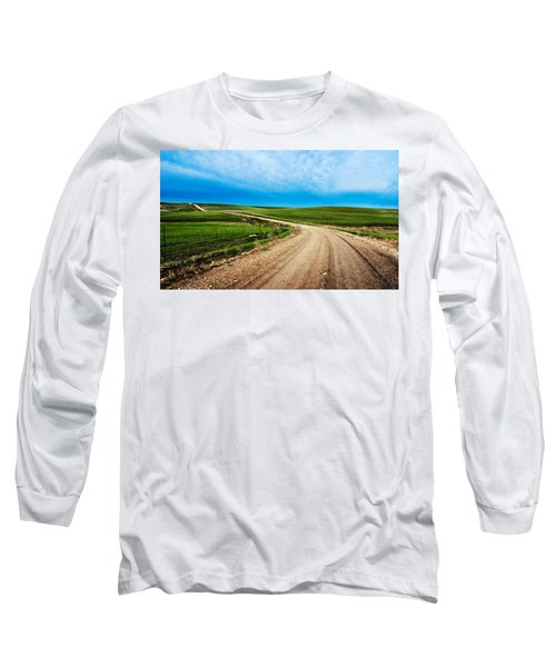 Flint Hills Spring Gravel Long Sleeve T-Shirt