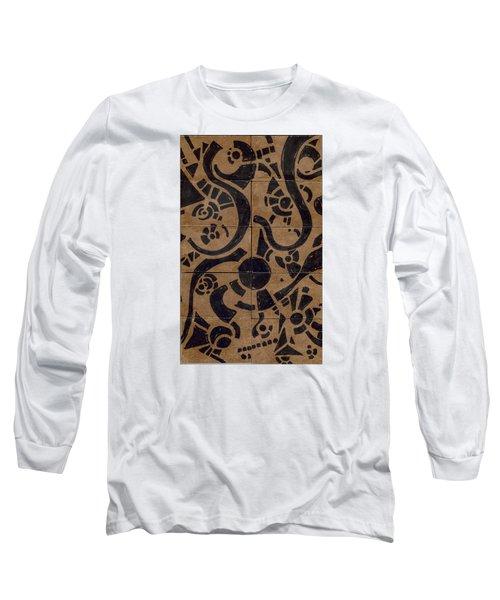 Flipside 1 Panel D Long Sleeve T-Shirt by Joseph A Langley