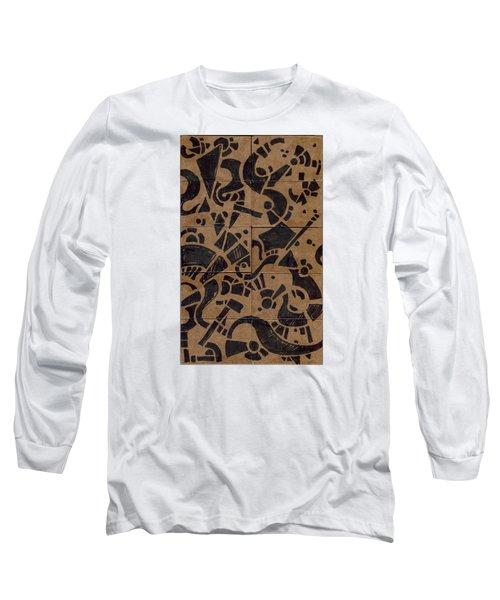 Flipside 1 Panel E Long Sleeve T-Shirt by Joseph A Langley