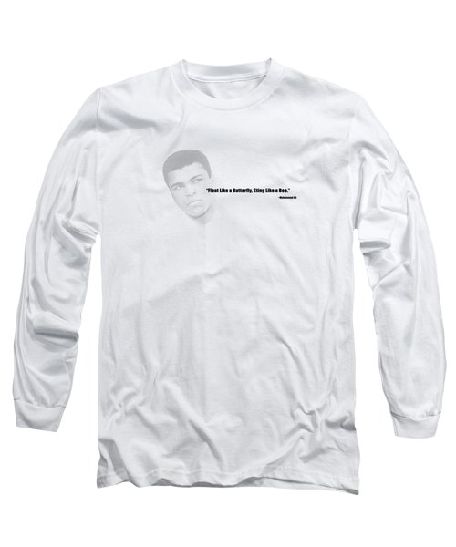 Float Like A Butterfly Long Sleeve T-Shirt