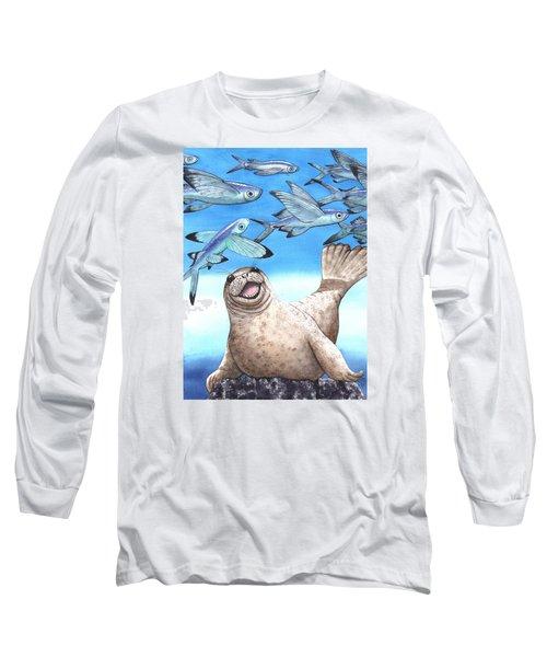 Flock Of Fish Long Sleeve T-Shirt