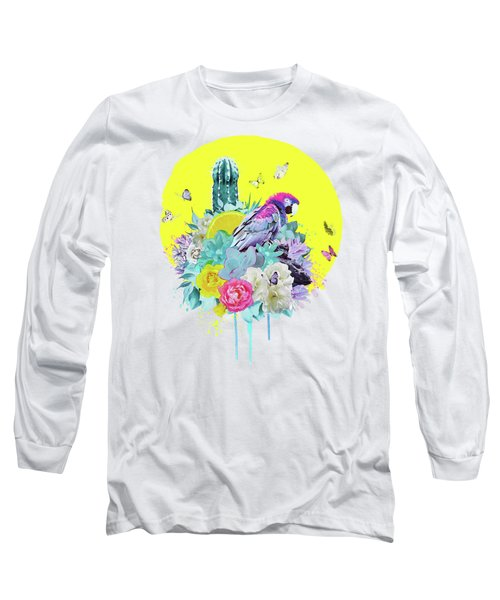 Floral Ara Long Sleeve T-Shirt