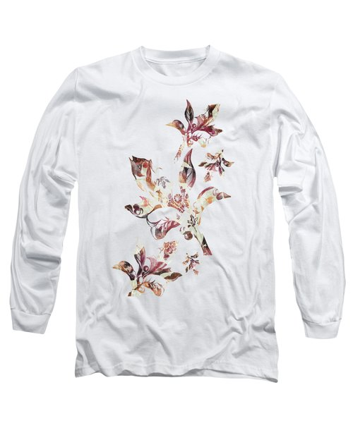 Floral Decor Long Sleeve T-Shirt