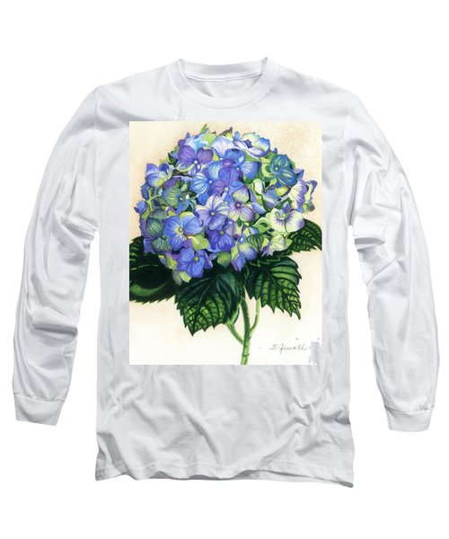 Floral Favorite Long Sleeve T-Shirt by Barbara Jewell