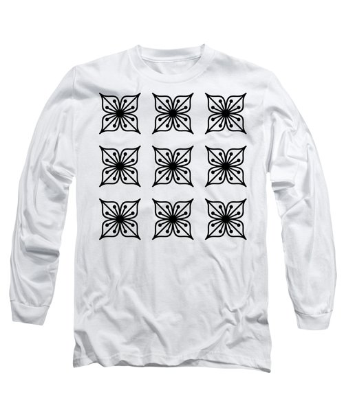 Floral Group  Long Sleeve T-Shirt