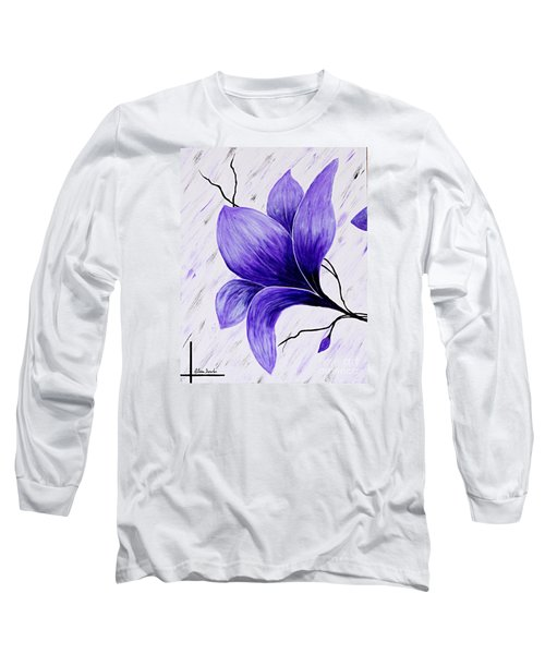Floral Slumber Long Sleeve T-Shirt