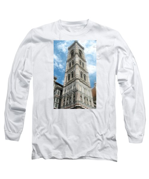 Florence Duomo Tower Long Sleeve T-Shirt