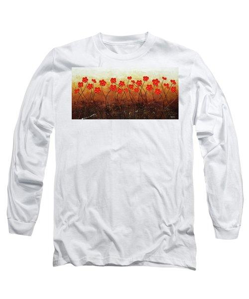 Flores De Mi Jardin Long Sleeve T-Shirt