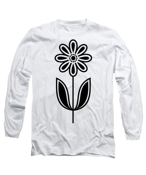 Flower 1 Transparent Long Sleeve T-Shirt