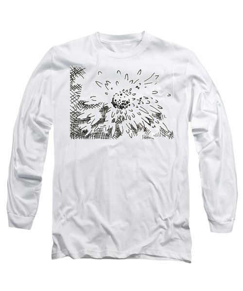 Flower 2 2015 - Aceo Long Sleeve T-Shirt by Joseph A Langley