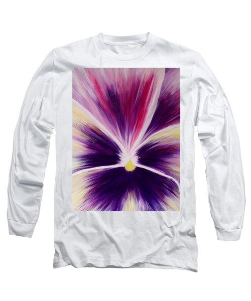 Flower Abstract Long Sleeve T-Shirt