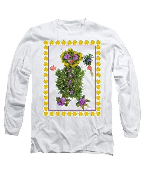 Flower Baby Long Sleeve T-Shirt