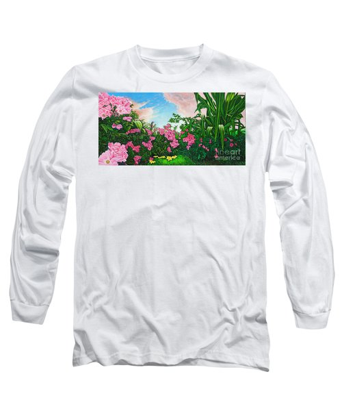 Flower Garden Xi Long Sleeve T-Shirt by Michael Frank