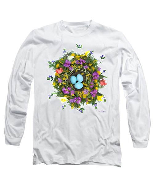 Flower Nest Long Sleeve T-Shirt