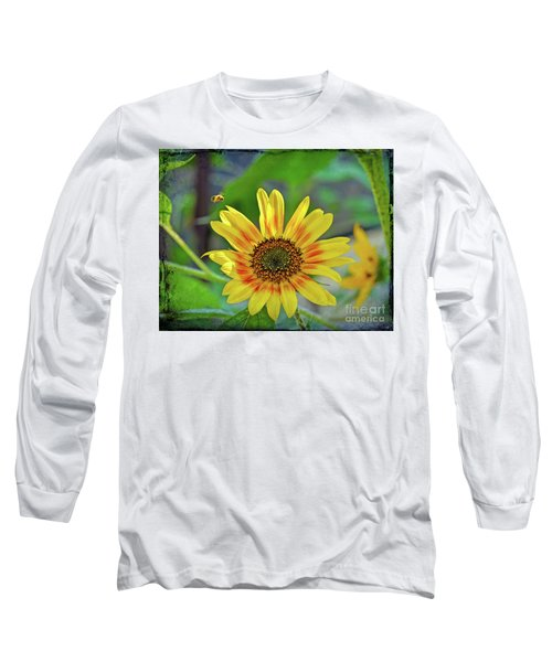 Long Sleeve T-Shirt featuring the photograph Flower Of The Sun by Kerri Farley