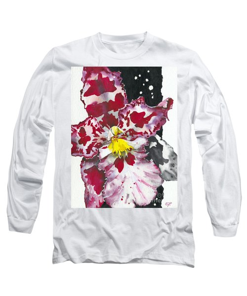Flower Orchid 11 Elena Yakubovich Long Sleeve T-Shirt