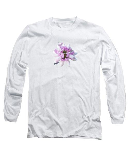 Flower Securigera Varia 2 Long Sleeve T-Shirt