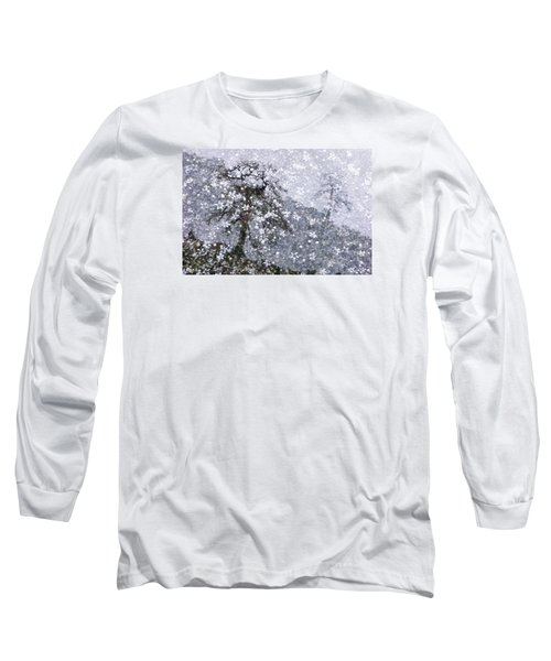 Flower Shower Long Sleeve T-Shirt by Ed Hall