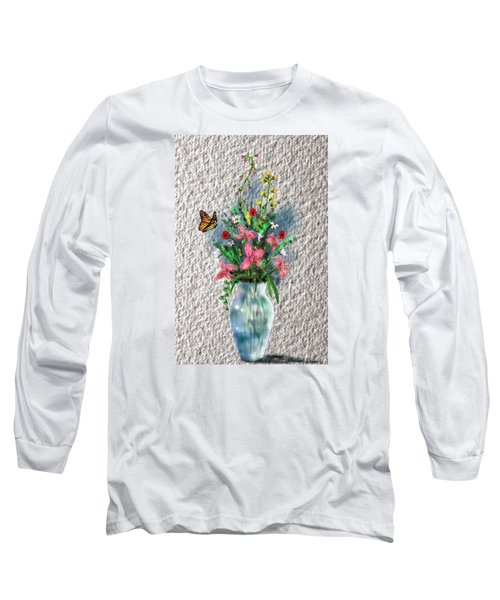 Flower Study Three Long Sleeve T-Shirt by Darren Cannell