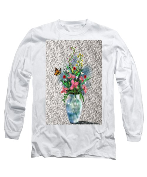 Flower Study Three Long Sleeve T-Shirt