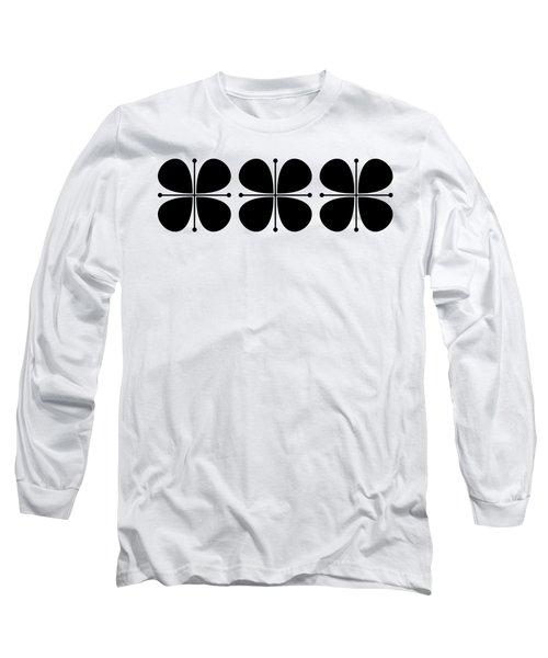 Flower Trio Transparent Long Sleeve T-Shirt