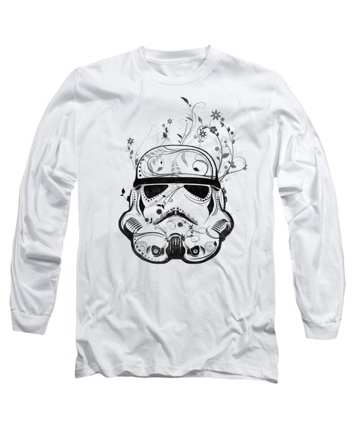 Flower Trooper Long Sleeve T-Shirt by Nicklas Gustafsson