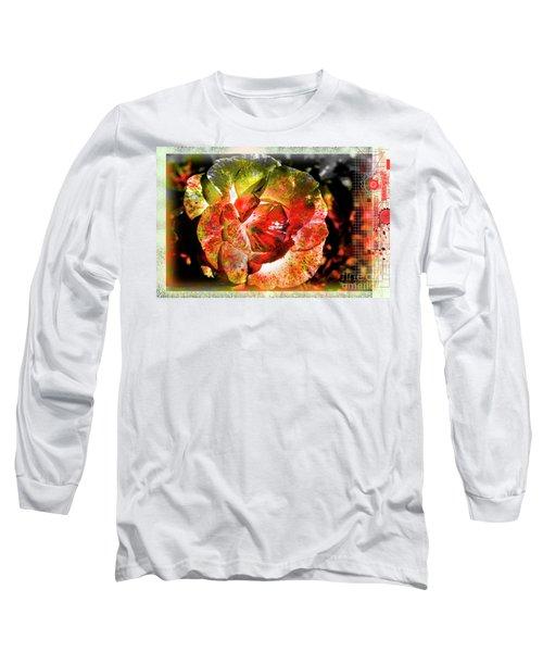 Flower Vector Long Sleeve T-Shirt