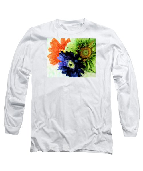 Flower X Three Long Sleeve T-Shirt