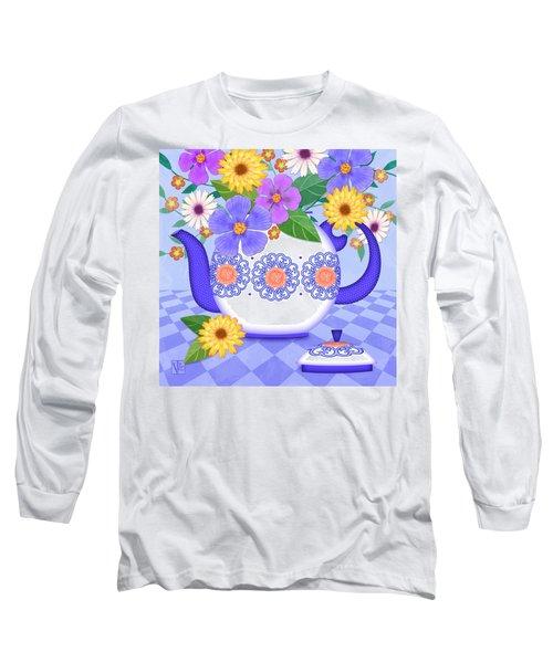 Flowers From My Garden Long Sleeve T-Shirt