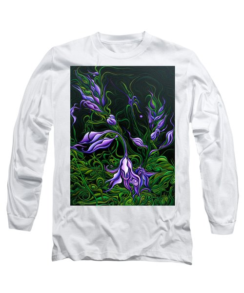 Flowers From The Failed Fiction Long Sleeve T-Shirt