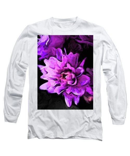 Flowers Of Lavender And Pink 1 Long Sleeve T-Shirt