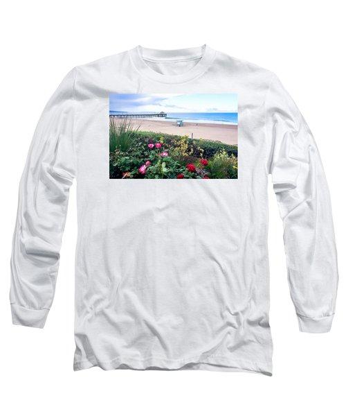 Flowers Of Manhattan Beach Long Sleeve T-Shirt