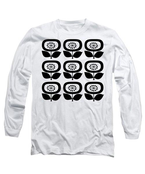 Flower 2 Group Transparent Long Sleeve T-Shirt