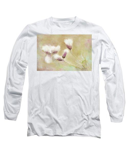 Fluffy Thistle Long Sleeve T-Shirt
